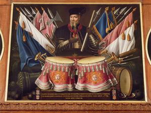 Portret van een man, waarschijnlijk Hendrik van Isendoorn (....-1594)