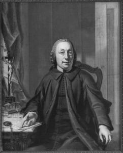 Portret van Adelbertus Ahuys