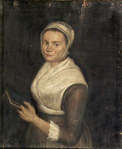 Portret van Johanna Schoonakker