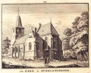 De kerk in Overlangbroek