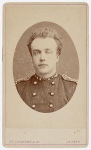 Portret van Wolter Gerard van der Wyck (1847-1914)