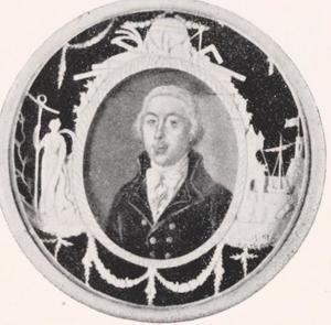 Portret van Theodore Gallois (1750-1797)