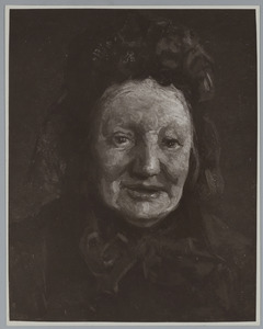 Portret van Hendrika Maris-Bloemert