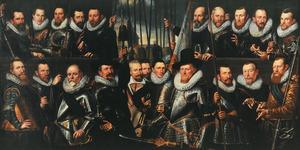 Schutters van een compagnie van de Voetboogdoelen, Amsterdam