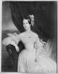Portret van Willemine Aletta Johanna van Boetzelaer (1817-1898)