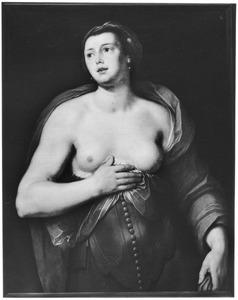 Heupstuk van een halfnaakte vrouw, mogelijk de Griekse koningin Helena