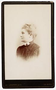 Portret van Everdine Suzette van Pallandt (1864-1958)