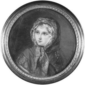 Portret van Julie-Pompee Wilhelmine van der Staal (1806- )