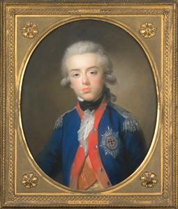 Portret van Willem George Frederik van Oranje-Nassau (1774-1799)