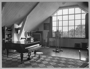 Atelier Charley Toorops in 'De Vlerken', 1932