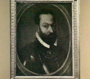 Portret van Jan IV van Glimes (1528-1567), Markies van Bergen op Zoom