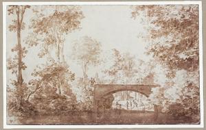 Landschap bij het Tuchthuis te Antwerpen