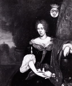 Portret van Judith Margriet van Coeverden (1638-....)