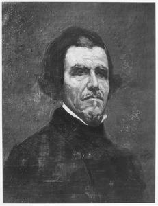 Portret van Eugène Delacroix
