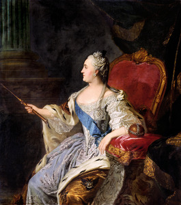 Portret van Catharina II de Grote (1729-1796)