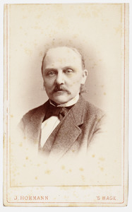 Portret van Jacob Leonardus de Iongh (1851- )