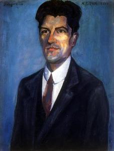 Portret van Jan Jordens (1883-1962)