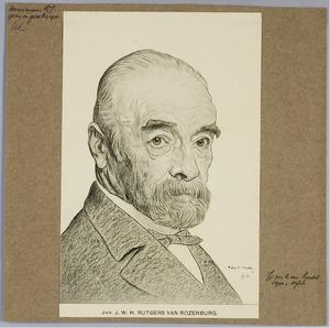 Portret van Jhr. J.W.H. Rutgers van Rozenburg