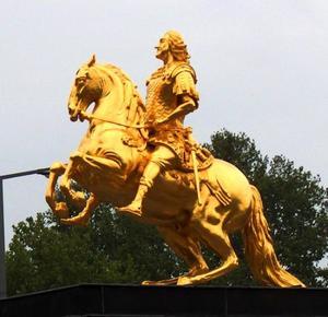 De gouden ruiter, Friedrich-August I (1670-1733)