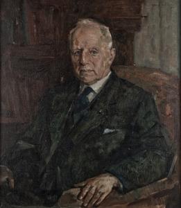 Portret van Jacob Adolf Ruys (1877-1971)