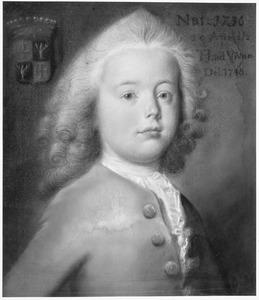 Portret van Albert Fabricius (1736-1772)