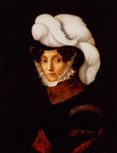 Portret van Julie Philippe Auguste Uitenhage de Mist (1783-1832)