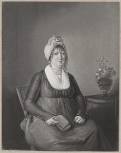 Portret van Susanna Catharina Commelin (....-1822)