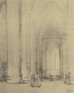 Interieur van de Dom in Keulen
