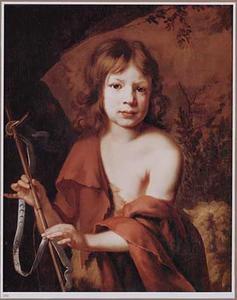 Portret van een jongetje als Johannes de Doper