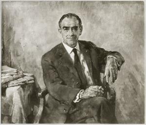 Portret van Alfred Antoon Gaasterland