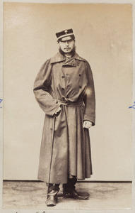 Portret van een man, waarschijnlijk Maurits van Reigersberg Versluys (1840-1912)