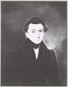 Portret van Jacobus Zandvliet (1802- )