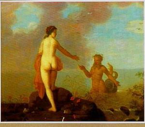 Landschap met Glaucus en Scylla (Ovidius, Metamorfosen)