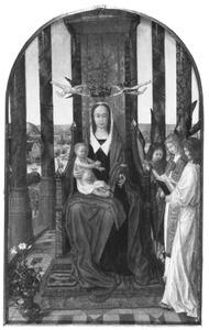 Maria met kind en zingende engelen