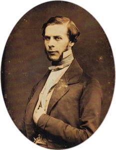 Portretfoto van graaf Pavel Sergeyevich Stroganov (1823-1911)