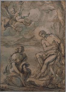 Apollo en de sibille van Cumae (Metamorfosen 14:130-153)
