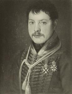 Portret van Walraven Elias Johan Baron van Balveren (1784-1865)