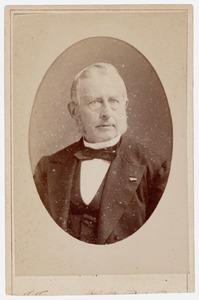 Portret van Matthias de Vries (1820-1892)