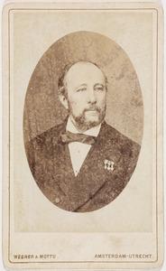 Portret van Frederik Cornelis Tromp (1828-1900)