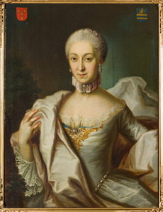 Portret van Maria Justina Catharina Josepha Antonia Speyart van Woerden (1737-1821)