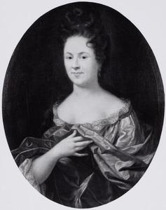 Portret van Judith Guldewagen (1658-1723)
