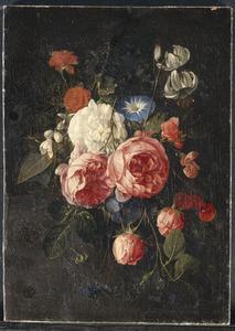 Festoen van diverse bloemen