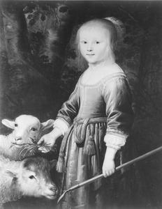 Portret van Maria Stricke van Scharlaken (1646-1669)