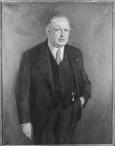 Portret van Mr. Dr. Antonie Roëll (1864-1940)