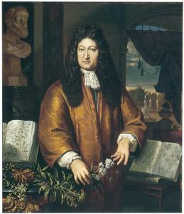 Portret van Johannes Commelin (1629-1692)