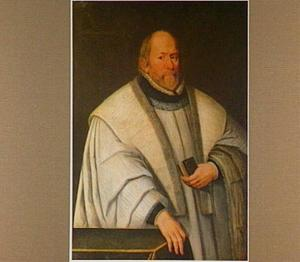 Portret van een onbekende 72-jarige geestelijke
