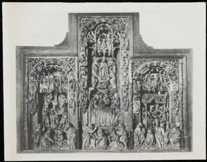 De besnijdenis, het sterfbed van Maria met haar tenhemelopneming en kroning, de aanbidding van de herders