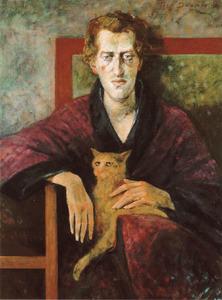 Portret van Gerrit Komrij (1944-2012)