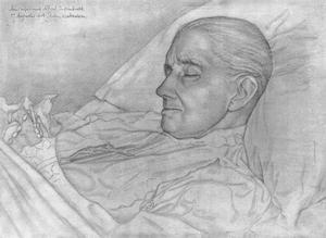 Doodsbedportret van Johanna Kuytenbrouwer (1833-1904)