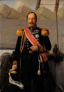 Portret van François Xavier Richard 't Hooft (1799-1860)